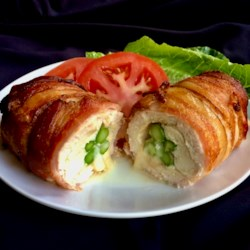 bacon wrapped stuffed chicken breasts in the air fryer printer