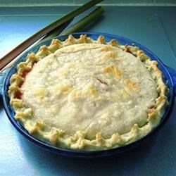 Rhubarb Cherry Pie Recipe