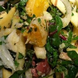 Fennel Apple Salad Recipe