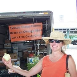 A day at the market in AR orange!
