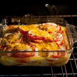 Photo of Summer Tomato Casserole by Cooking Brunette