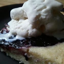 Blubaugh's Blueberry Buckle Shortcake