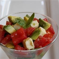 Insalata Caprese with Avocado Recipe