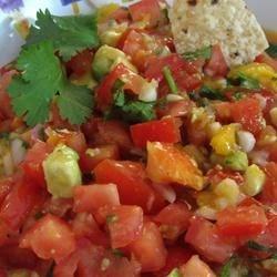Avocado, Tomato & Mango Salsa