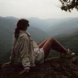 Ellie in the Blue Ridge Mountains