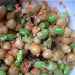 Chickpea and Edamame Salad Recipe