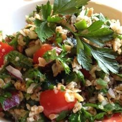 Veggie Bulgur Salad (Kisir) Recipe