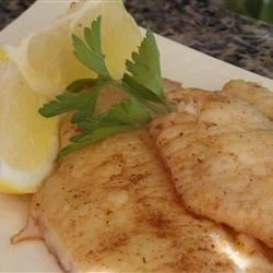 Brown Butter Perch Recipe