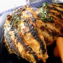 Spicy Tarragon Yogurt Chicken Recipe