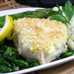 California Halibut Bake
