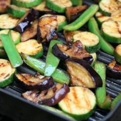 grilled vegetables with balsamic vinegar printer friendly