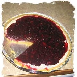 Blueberry Jello Pie