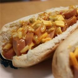 Baked Hot Dog Sandwiches Recipe
