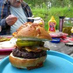 Dad's Favorite Detroit-Style Roquefort Burgers Recipe