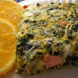 Photo of Cheesy Spinach Casserole by Marilyn  Paradis