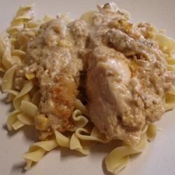 Creamy Garlic Mushroom Chicken Recipe