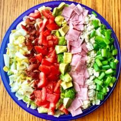 cobb salad with ham printer friendly