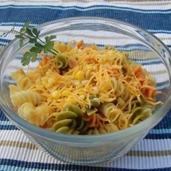 Delish Lime and Corn Pasta Salad Recipe