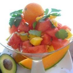 Photo of Melon, Mango, and Avocado Salad by blancdeblanc