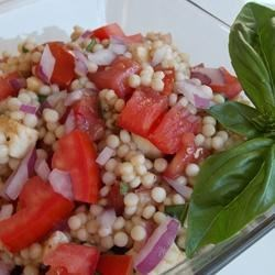 Photo of Caprese Couscous Salad by TBOGGS