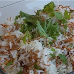 Basmati with Toasted Noodles