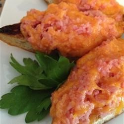 Photo of Broiled SPAM® and Cheese Open Face Sandwiches by Elaine E