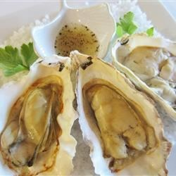 Barbequed Oysters Recipe