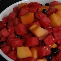 Strawberry-Melon Summer Salad Recipe