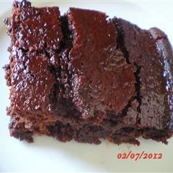 Boiled Chocolate Delight Cake