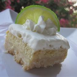 White Chocolate Key Lime Endeavor with Macadamia Crunch Recipe