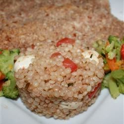 Caprese Couscous Salad Recipe
