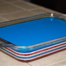 Fourth of July Layered Gelatin Recipe