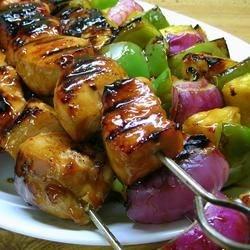 Hawaiian Chicken Kabobs photo by *Sherri* - Allrecipes.com - 857807