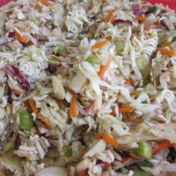 Dad's Asian Slaw Recipe