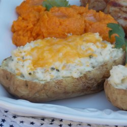 Twice-Baked Ranch Potatoes |