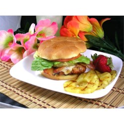 Aloha Chicken Burgers Recipe