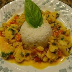 Easy Curried Cauliflower Recipe