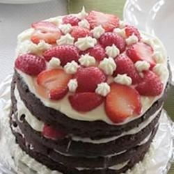 Photo of Chocolate Mayonnaise Cake II by Cathy Brisco
