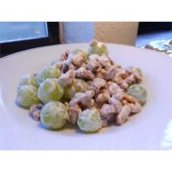 Grape-Walnut Salad