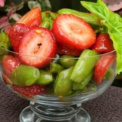 Strawberry Snap Pea Salad