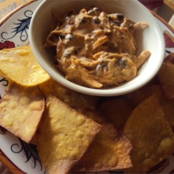 Outrageous Warm Chicken Nacho Dip Recipe