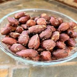 air fryer roasted almonds printer friendly