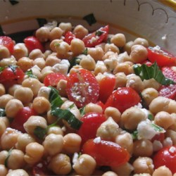 Summer Chickpea Salad Recipe