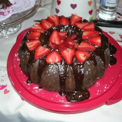 Chocolate Cavity Make Cake