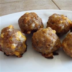 Photo of Sausage and Cheese Balls by Nikki Wilson