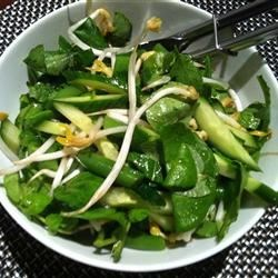 Asian Salad with Wasabi Dressing