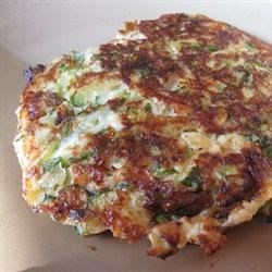 Low Carb Zucchini Pancakes Recipe
