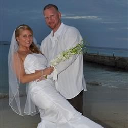 Our Jamaican Beach Wedding  2/8/11