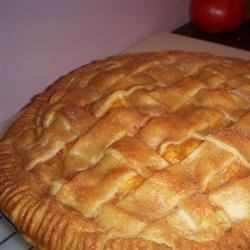 Peach pie!