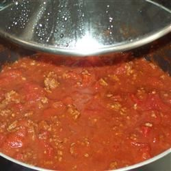 Photo of Simple Semi-Homemade Low Carb No-Bean Chili by Jackie Davis